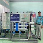 Hội nhôm thanh định hình Việt Nam – Khu vực phía Nam: Trao tặng hệ thống lọc nước RO trị giá 130 triệu đồng cho người dân bị hạn mặn